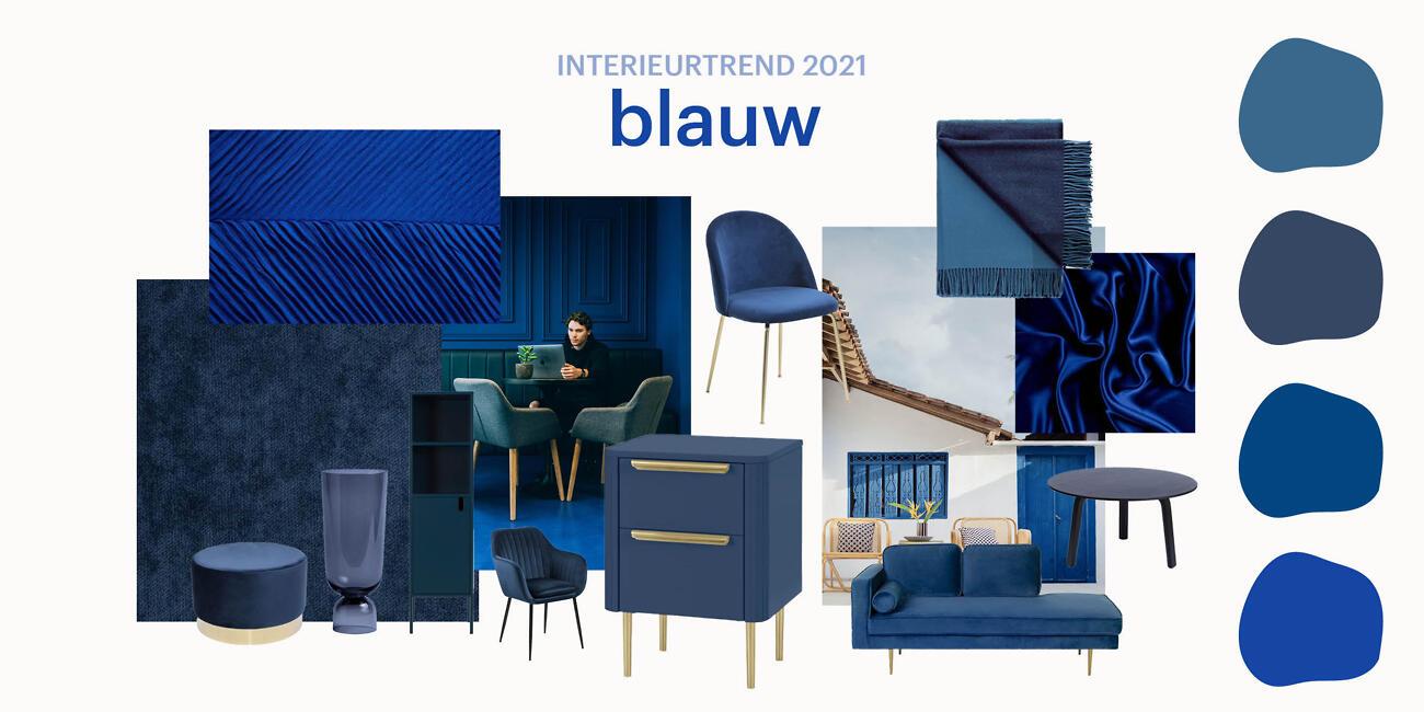 Woontrends 2021 - Blauw | Biano.nl