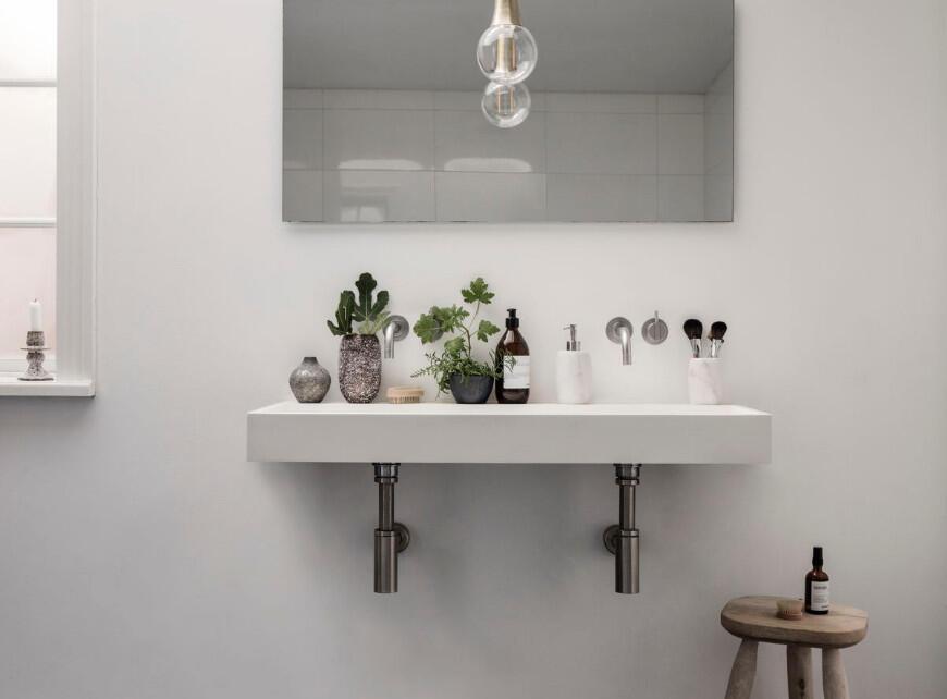 Kleine badkamer inrichten - Sfeerbeeld 1