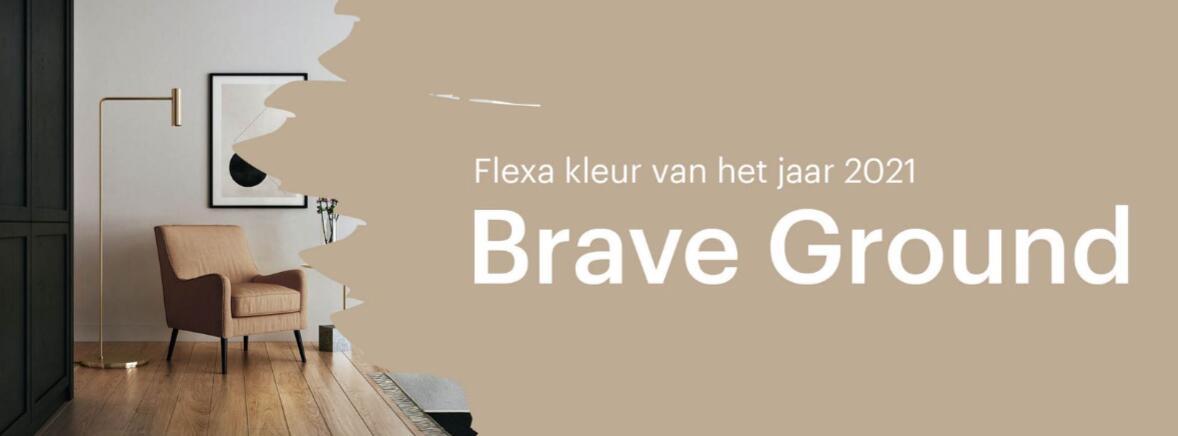 Brave Ground - Flexa kleur van het jaar