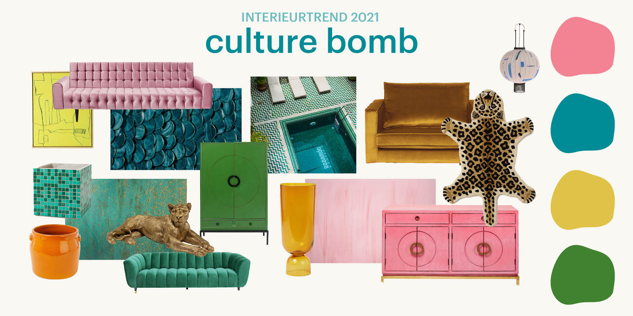 Woontrends 2021- Culture Bomb| Biano.nl
