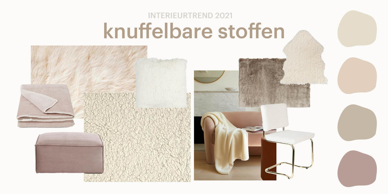 Woontrends 2021- Knuffelbare stoffen| Biano.nl