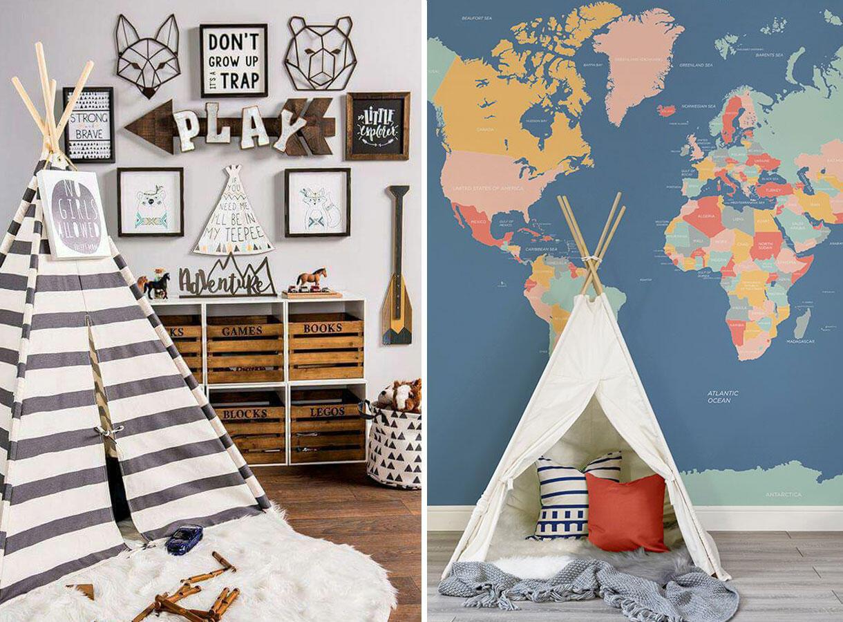 cc L: Kids Room IdeasR: Murals