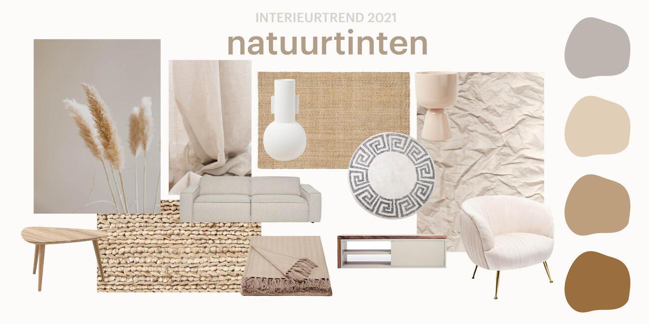 Woontrends 2021- Natuurtinten| Biano.nl
