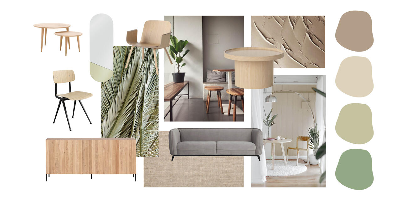 Slow Living moodboard - Brave Ground
