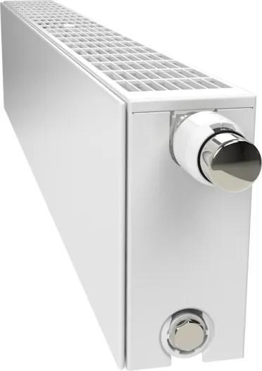 Stelrad Planar Plinth paneelradiator plintmodel dubbel T44 200x2000mm 2362W wit 149024420