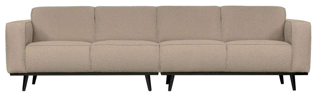 BePureHome Statement Retro 4-zits Bank Boucle Beige