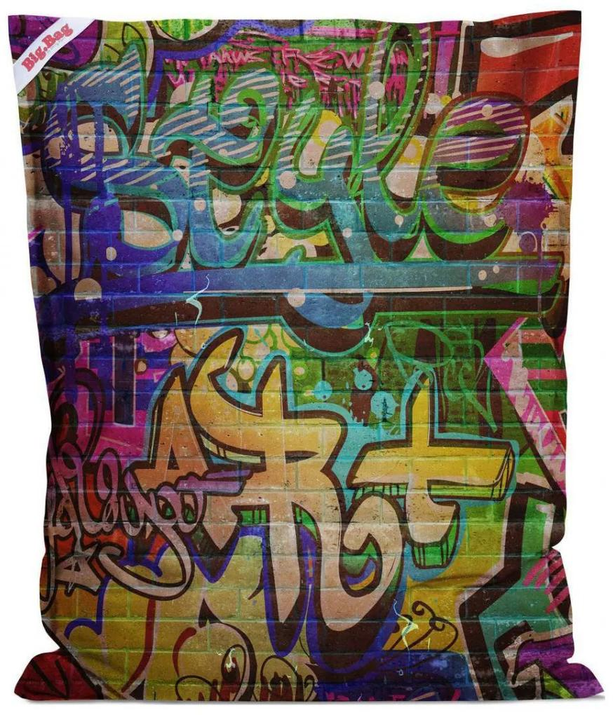 Sitting Point BigBag - Graffiti