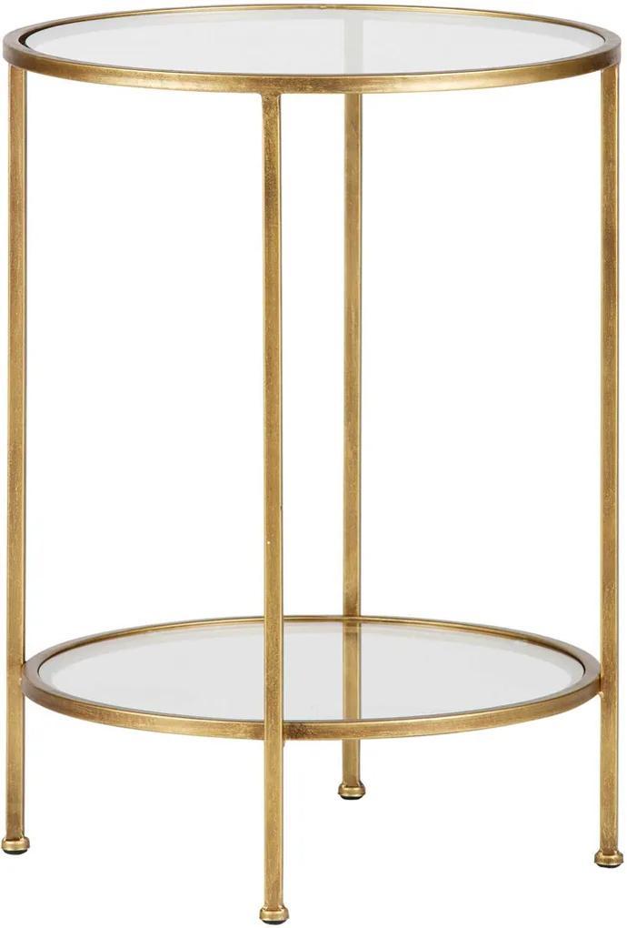 Glazen Sidetable Messing.Glazen Tafels Online En Eenvoudig Bestellen Biano