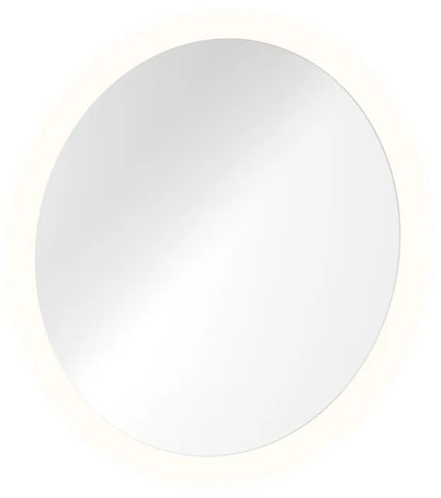 Round Spiegel rond - met indirecte LED verlichting rondom - 60x60cm