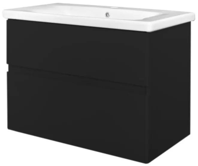 Best Design Black Quick greeploze badkamermeubel 65 cm mat zwart