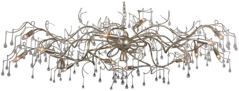 Goossens Hanglamp William, Hanglamp met 16 lichtpunten
