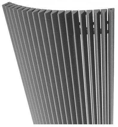 Jaga Iguana Arco Designradiator 1800x510mm 1725 watt metaalgrijs ARPW180051001MM