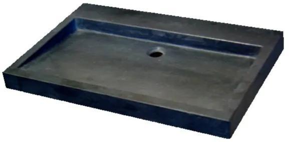 Best Design wastafel Flat line 70x45cm Blauw leisteen