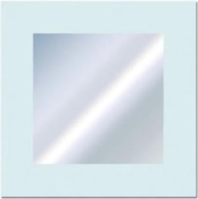 Plieger Art line spiegel met gezandstraald kader 40x40cm 4350780