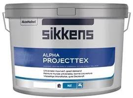 Sikkens Alpha Projecttex - Wit - 2,5 l