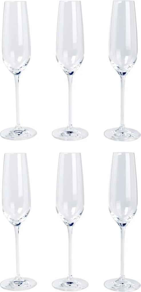 Schott Zwiesel Fortissimo champagneglas set van 6