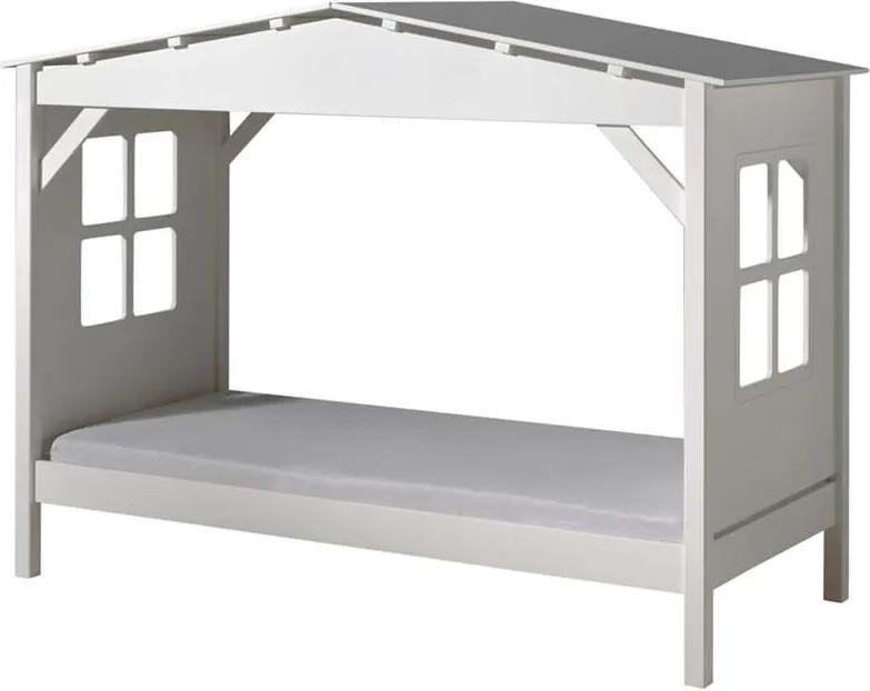 Vipack huisbed Pino - wit - 160,5x109,5x217 cm - Leen Bakker