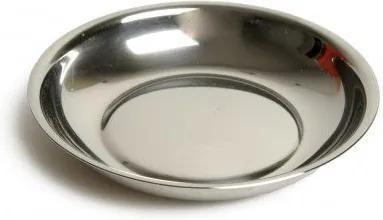 Bordje, roestvrij staal, Ø 10 cm