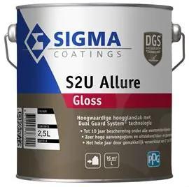 Sigma S2U Allure Gloss - Wit - 2,5 l