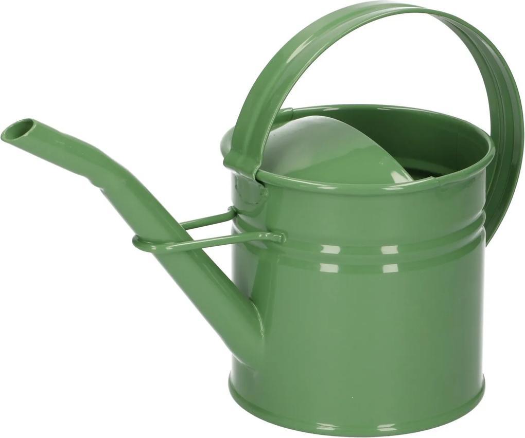 Gieter, zink, groen, 0,9 l