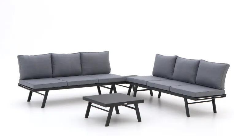 Forza Vadena hoek loungeset 4-delig verstelbaar - Laagste prijsgarantie!