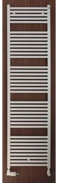 Zehnder Zeno handdoekradiator 78.8x50cm 377watt Staal Wit glans ZN-080-050