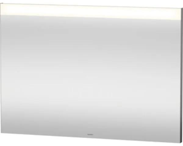 Duravit Best spiegel met LED verlichting horizontaal en indirecte wastafelverlichting 100x70cm m. verwarming en sensorschakelaar LM7857D0000