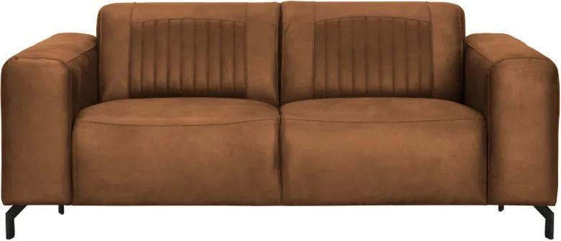 2-zits bank Bolero | leer Kentucky cognac 09 | 1,90 mtr breed