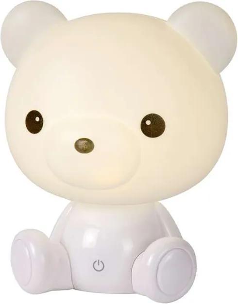 Lucide tafellamp Dodo Bear - wit - Leen Bakker