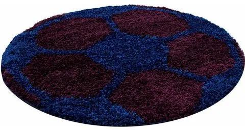 Vloerkleed voor de kinderkamer, »Fun 6001«, Ayyildiz Teppiche, rond, hoogte 30 mm, machinaal geweven
