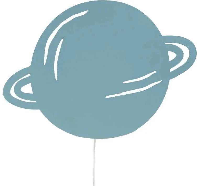 Ferm Living Planet wandlamp blauw