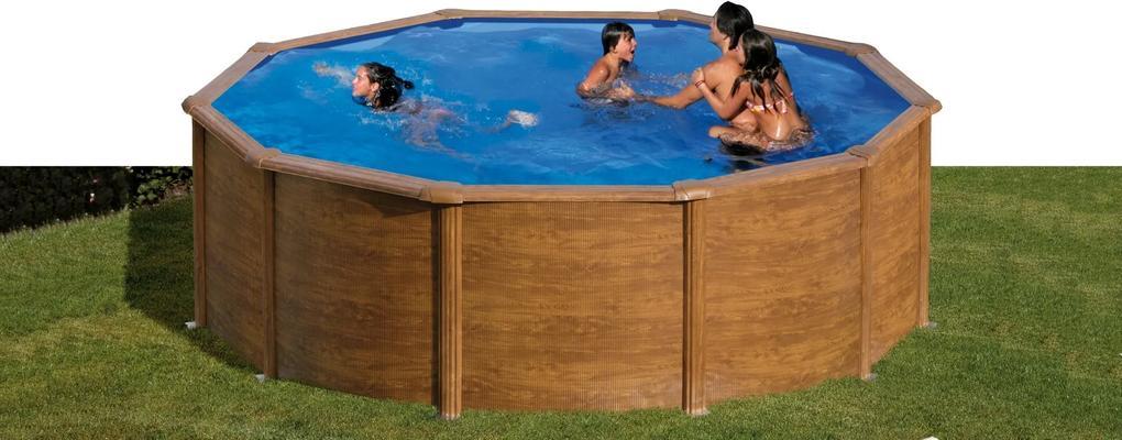 Zwembad Pacific set rond 350 cm Gre Aqua-fun