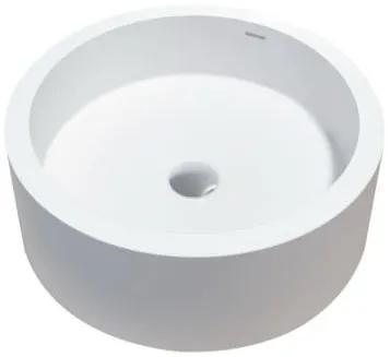 Best design Just Solid opbouw waskom Compa 46cm mat wit