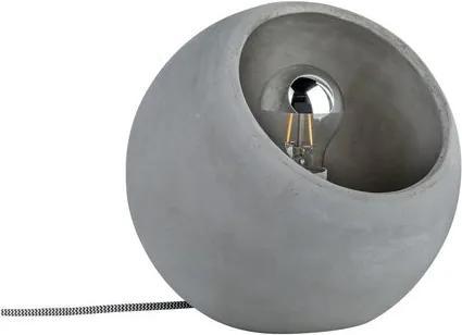 Paulmann Neordic Ingram Design Tafellamp Van Beton, E27 Fitting