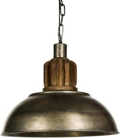 PTMD Denver metal grey hanglamp