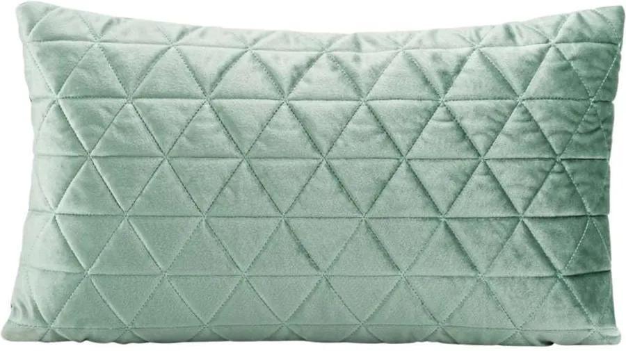 Sierkussen Amy - groen - 30x50 cm - Leen Bakker