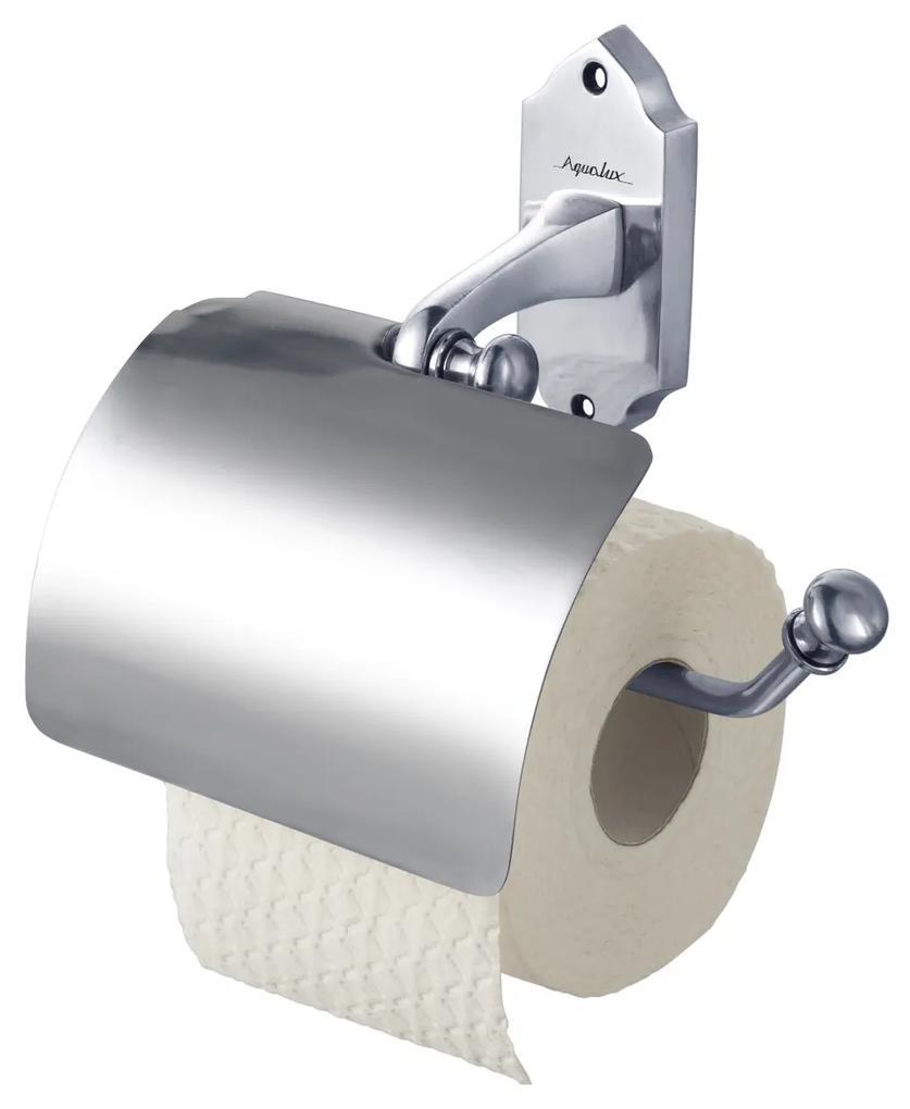 Toiletrolhouder Haceka Aqualux PRO1900 met Klep Chroom