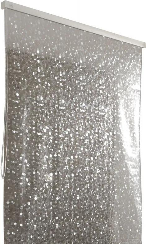 Rolgordijn 128x240 cm, parelmoer