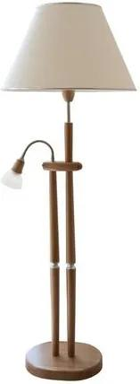 LAUE Staande lamp met leeslamp