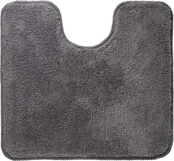 Sealskin Angora Toiletmat Polyester 55x60 cm Grijs 293997014