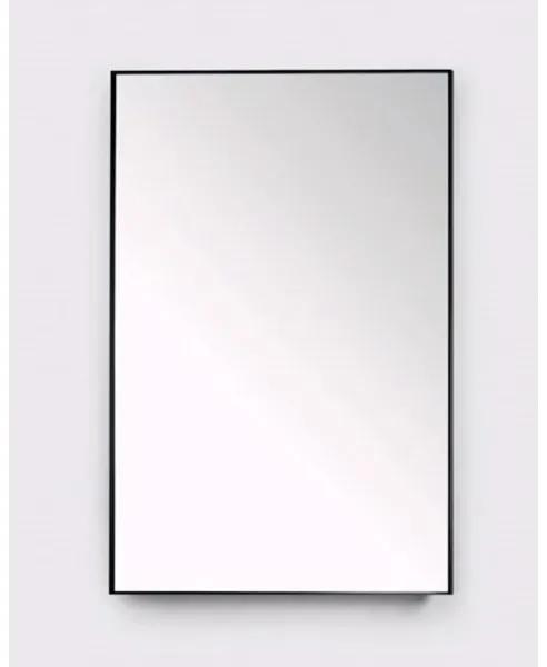 Royal plaza Merlot spiegel 120 x 80 cm mat zwart