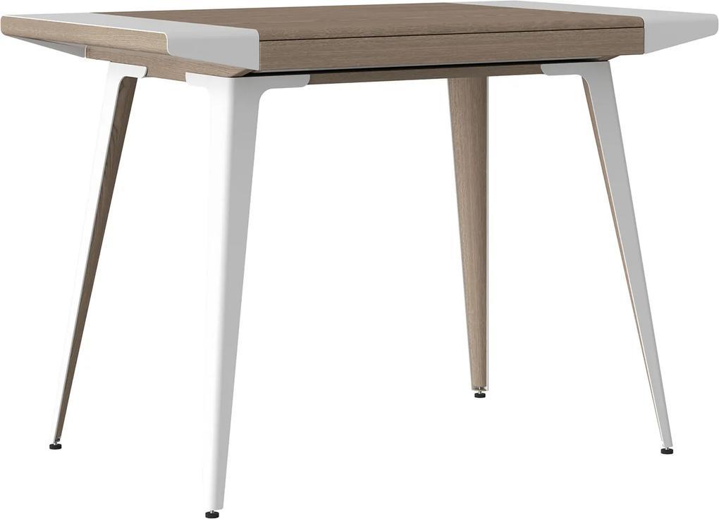 UMAGE Ambitions - Scandinavisch bureau - Eikenhout - Buro - Multifunctioneel - Wit - 72 cm hoog - Metalen - Design