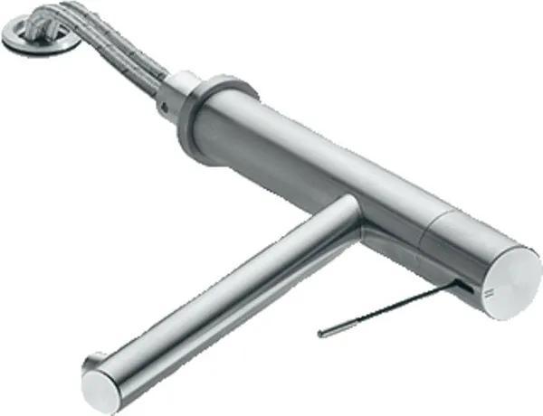 KWC Ono Keukenmengkraan 19cm 3/8 inch flexibele slang 1 kraangat RVS 10.151.043.700FL