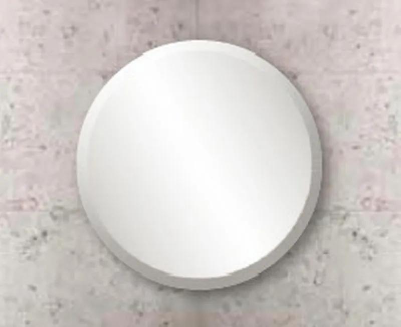 126 spiegel rond met bevestiging en facetrand 25 mm 50 cm