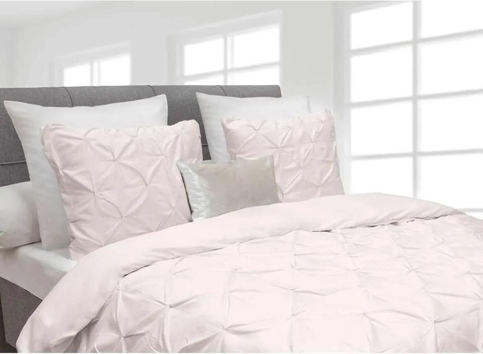 Heckett & Lane dekbedovertrek Cromer - roze - 240x220 cm - Leen Bakker