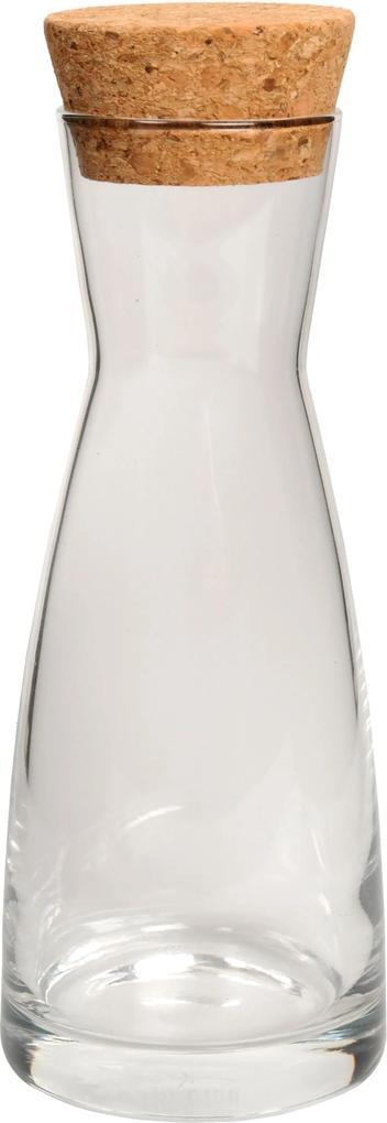Karaf met kurk, glas, 0,25 L