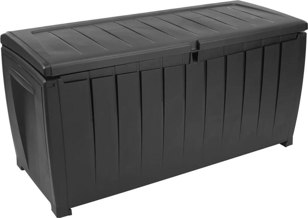 Kussenbox ULLARED B124xH60xD55 zwart