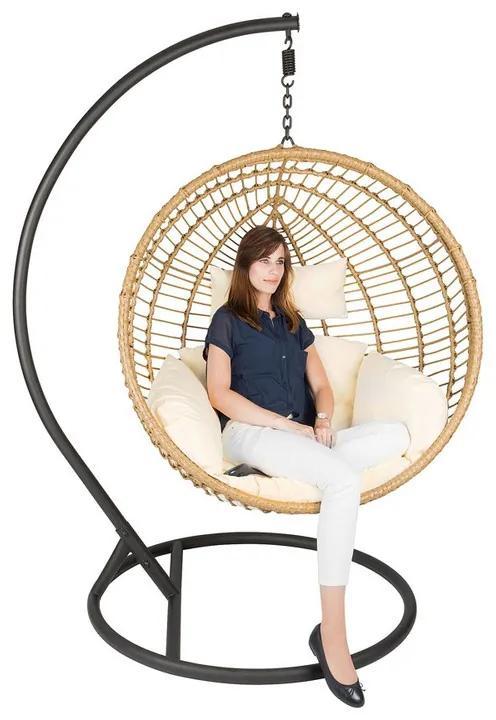 Hangstoel cocoon XL - naturel