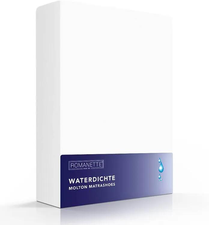 Romanette Luxe Waterdicht Molton Hoeslaken 160 x 200