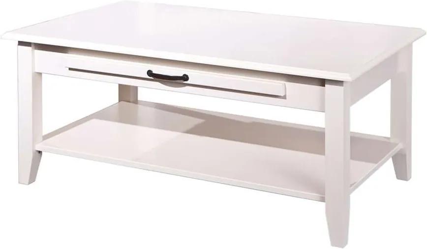 Salontafel Cassala - wit - 45x100x60 cm - Leen Bakker